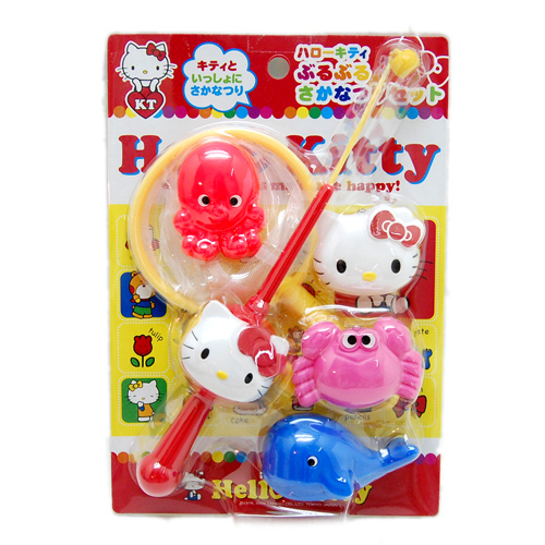 玩具_HELLO KITTY-釣魚玩具組