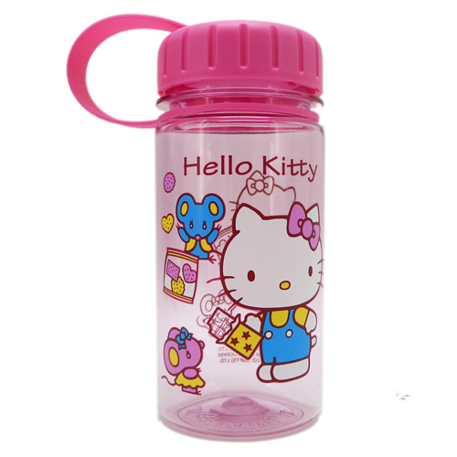 水壼_Hello Kitty-透明水壺230ML-餅乾