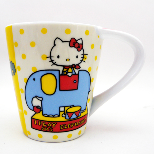茶具杯子_Hello Kitty-馬克杯-大象