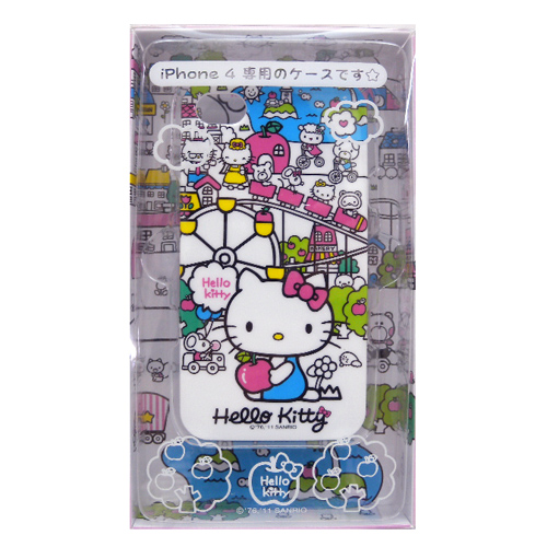 流行百貨_Hello Kitty-IPHONE 4殼-城市