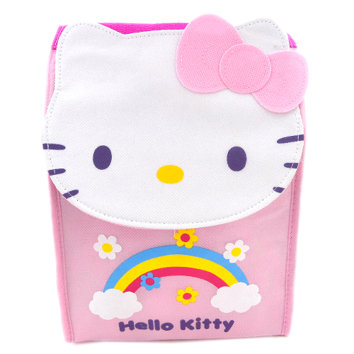 手提包袋_Hello Kitty-造型保冷便當袋-粉