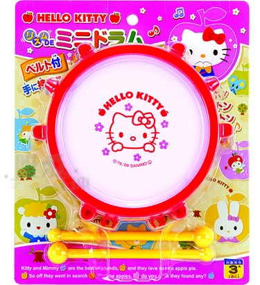玩具_Hello Kitty-打鼓玩具