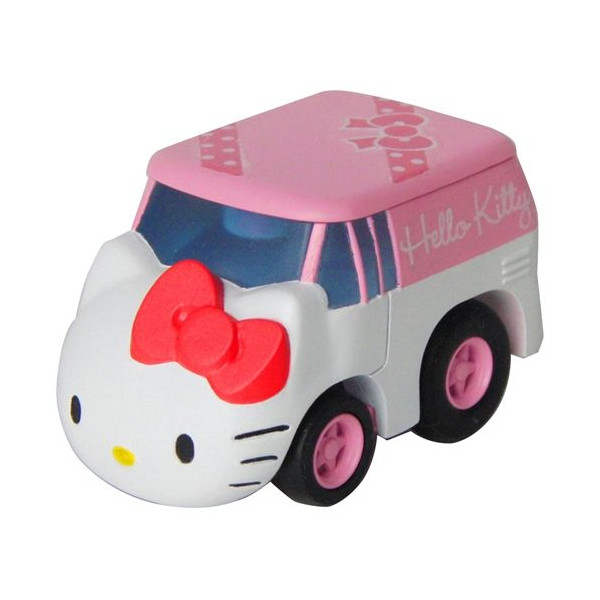 玩具_Hello Kitty-   阿Q車MIX-KT