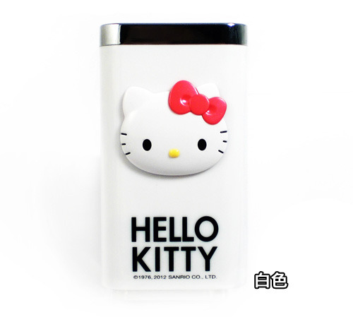 電子3C館_Hello kitty-KT電力銀行附袋-白