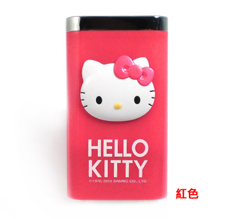 電子3C館_Hello kitty-KT電力銀行附袋-紅